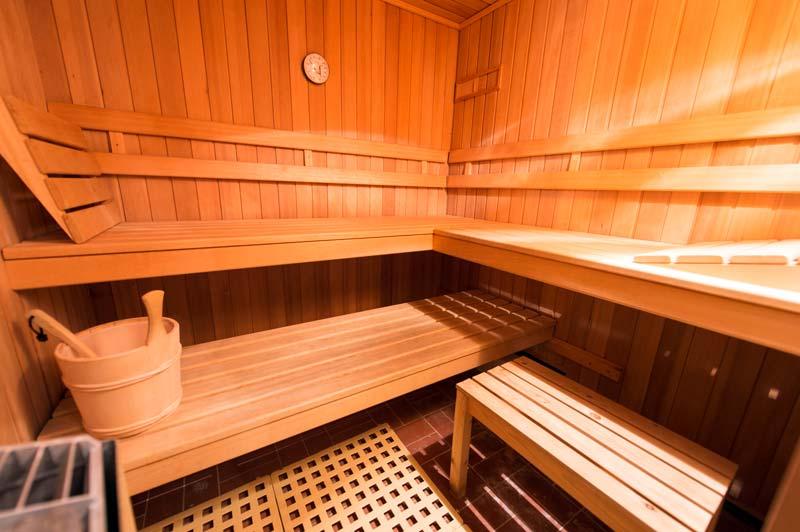 Sauna Im Keller Ferienlodges